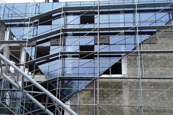 Fatade din sticla si aluminiu la pret redus in Moldova