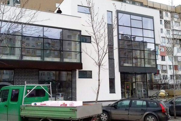 Fatade din sticla si aluminiu la pret mic in Moldova