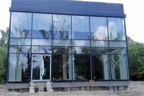 Fatade din sticla si aluminiu in Chisinau